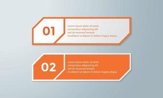 Creative concept data for infographic vector