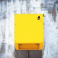 Yellow power generator photo