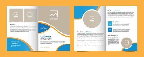 diseño de plantilla de diseño de folleto vector