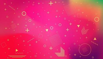 Abstract modern graphic element vector