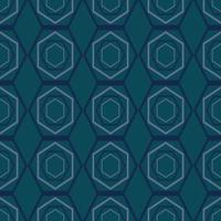 Geometric fabric abstract ethnic pattern vector