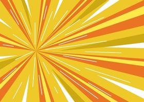 Abstract speed comic zoom background vector