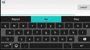 close-up do cursor piscando digitando indique um amigo video