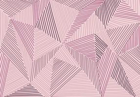 Abstract low polygon patchwork with hand drawn lines pattern mosaic background and texture vector