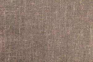 textura de arpillera vieja foto