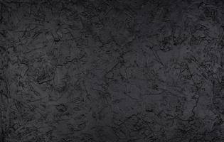 Black stone texture dark slate background top view photo