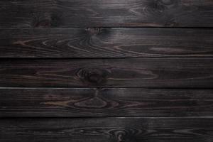 Dark wood background photo