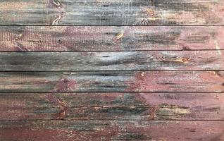 Old red wooden background photo
