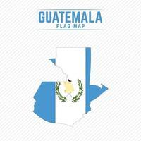 mapa de la bandera de guatemala vector