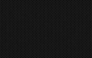 Simple seamless geometry hexagonal pattern Vector black and white hexagon background Monochrome texture