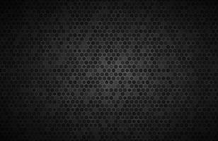 Dark widesreen background with wheels with different transparencies Modern black geometric design Simple vector illustration