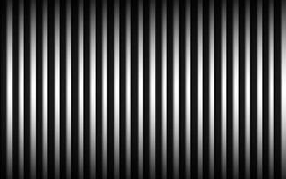 Abstract metal background with black and white vertical lines Parallel lines and strips Vector illustration