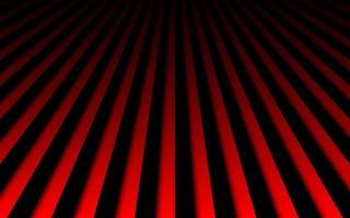 Abstract metal background with black and red vertical lines Parallel lines and strips Vector illustration