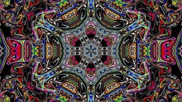 Multicolored Kaleidoscope Background video