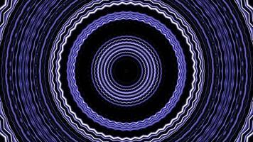 séquence de kaléidoscope de fond de mouvement graphique video