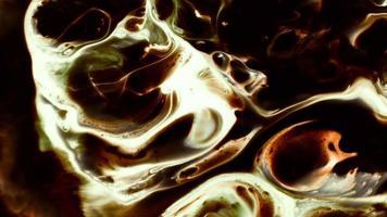 propagação de tinta de arte abstrata video