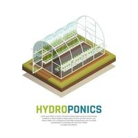 Water Tank Agriculture Background Vector Illustration