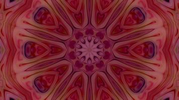 fond graphique de mouvement kaléidoscope video
