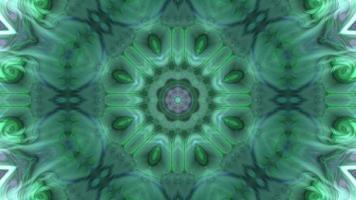 Séquence de kaléidoscope d'arrière-plan de mouvement multicolore video