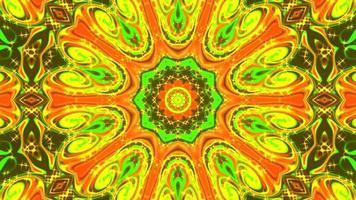 kaléidoscope d'arrière-plan multicolore video