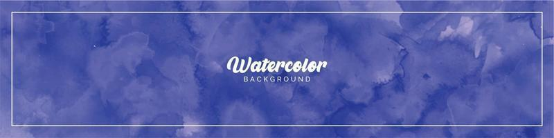 Pastel Light Blue Watercolor Painted Background vector