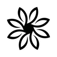 patrón de flores clipart diseño de flores y patrón de corte por láser vector