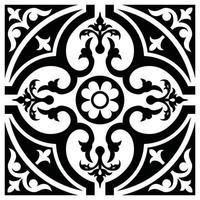 Flower Pattern Clipart flower design and laser cutting pattern vector