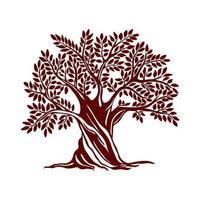 Clipart tree design vector
