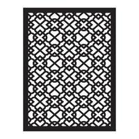 corte por láser obtener diseño patrón islámico vector