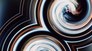 mouvement de flux à effet de tourbillon de gradient actif conceptuel video