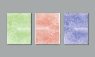 Watercolor pastel background hand painted aquarelle colorful stains on paper vector