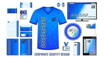 diseño de marca de identidad corporativa vector