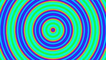 série de fond de graphiques de mouvement de cercles colorés video