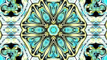 Multicolored Motion Graphics Background Kaleidoscope video