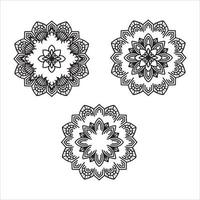 Lotus Flower Mandala vector