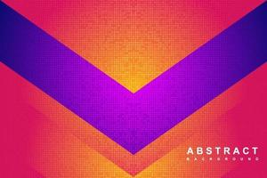 Abstract modern background with gradient and halftone concept vector
