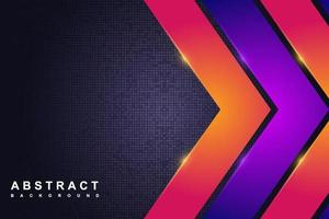 Abstract modern technology background with dark and gradient concept vector