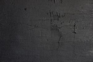 fondo de madera negra. foto