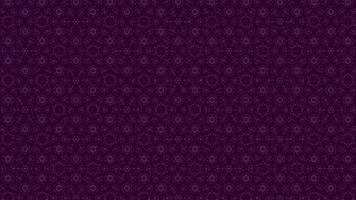 Purple Background with Light Glowing Ornament video