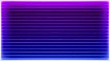 Retro Style Neon Purple Laser Frame video