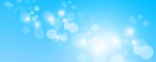 Blurred light sparkle elements vector