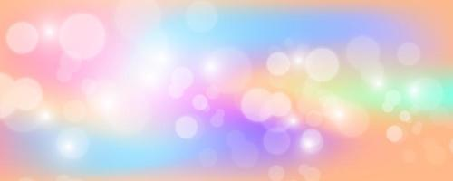 Bright holographic background with sparkles vector
