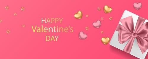 Valentines day card concept vector