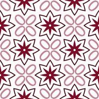 Modern batik kawung seamless pattern vector