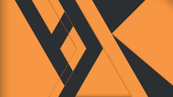 Abstract background black and dark orange colors vector
