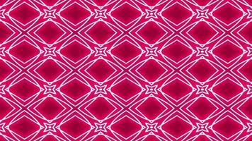 abstrakter roter und weißer Kaleidoskophintergrund video