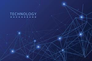 technology background template vector