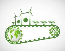 Ecology and Environmental Concept vector