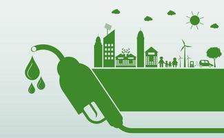 International Biodiesel Day Concept vector