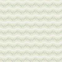 seamless floral stripe pattern beige green and white vector